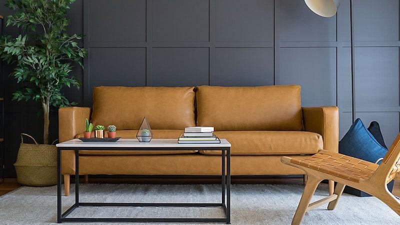 personnaliser meubles IKEA - Housse Comfort Works cuir