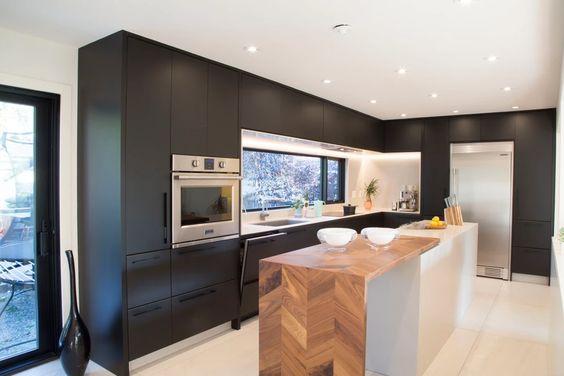 personnaliser meubles ikea - STIL Store Canada - Cuisine noire et bois