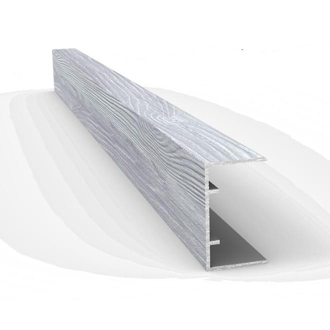 Alumium imprimé effet bois de grange