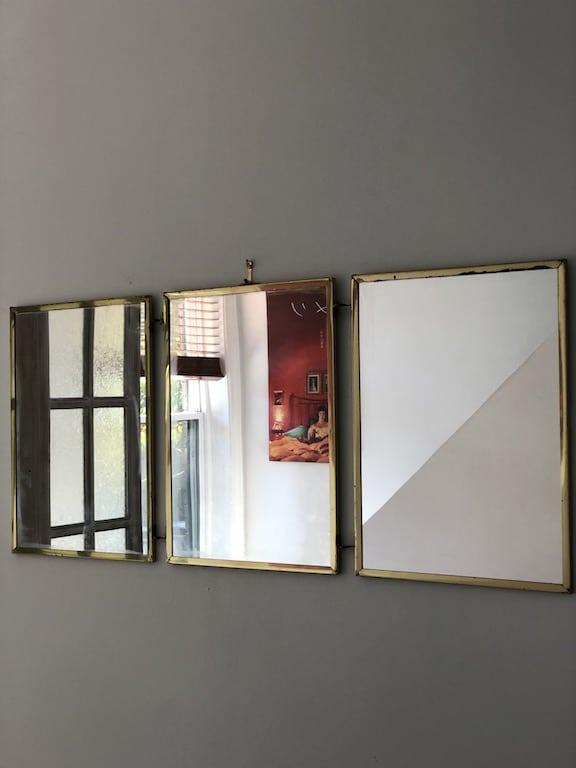 trois miroirs dorés pas chers Marketplace